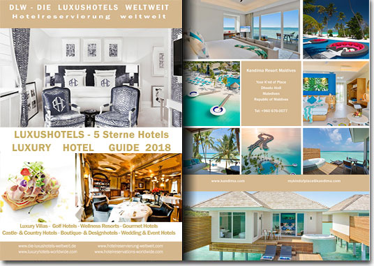 Luxury Hotels catalgoue A5 2014